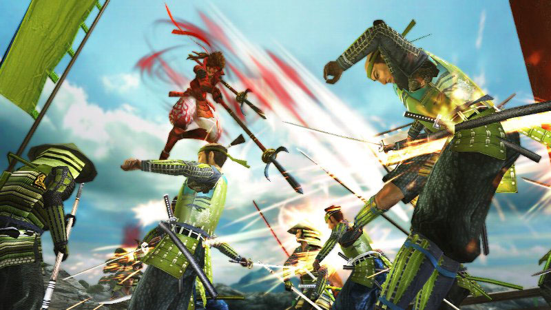Sengoku Basara Samurai Heroes1